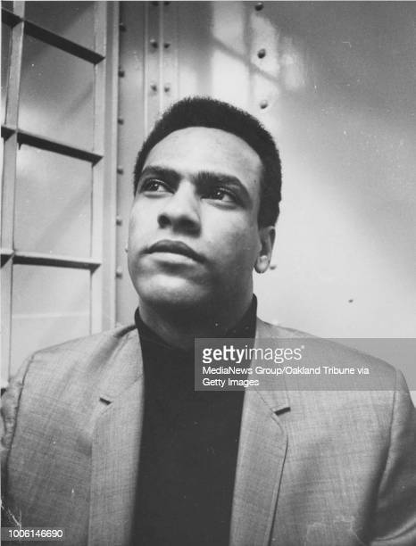 Oakland CA July 16 1968 Huey Newton speaks to newsmen during a press conference at the Alameda County Courthouse #13