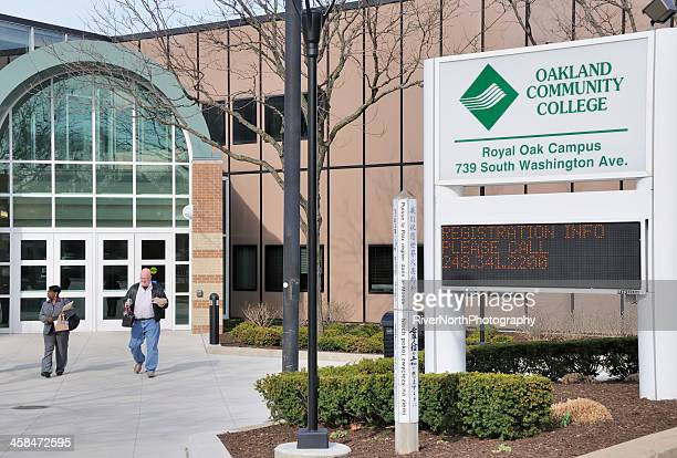oakland community college, royal oak campus - community college stock pictures, royalty-free photos & images