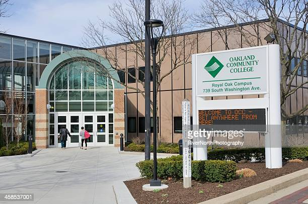 Occ Royal Oak Campus Map.Community College Stock Photos And Pictures