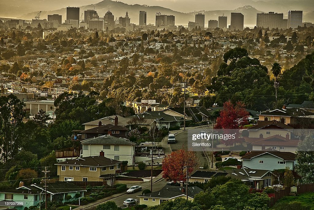 Oakland from se : Stock Photo