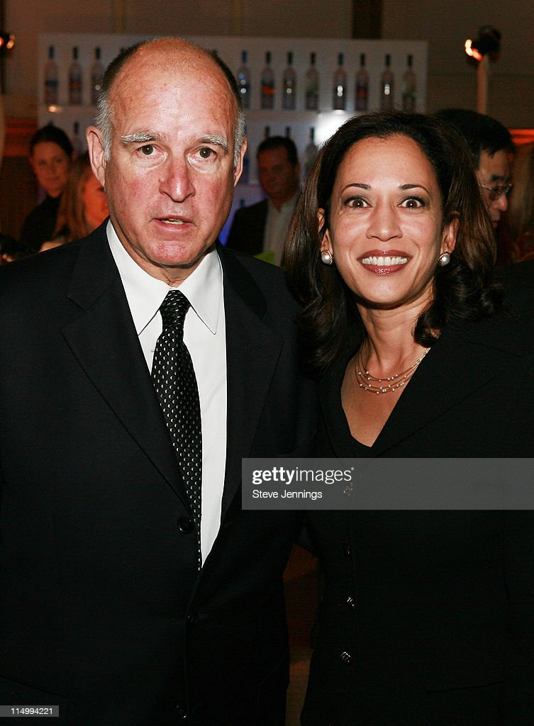 Oakland Mayor Jerry Brown And Kamala Harris San Francisco District News Photo Getty Images