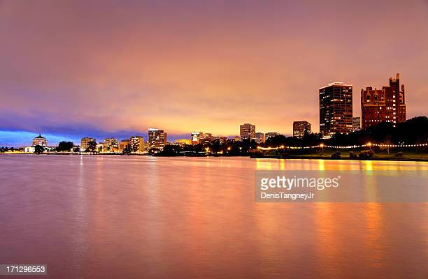 oakland - oakland california skyline stock pictures, royalty-free photos & images