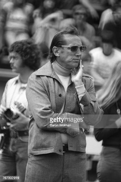 Oakland Raiders coach Al Davis at Oakland Coliseum Oakland California 17th August 1975 Davis was the principal owner and general manager of National...
