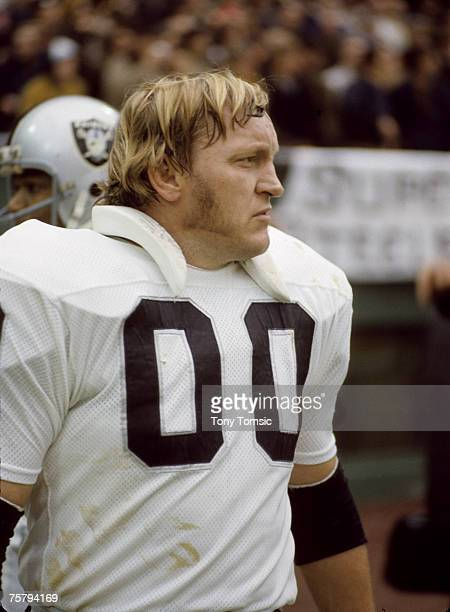 Oakland Raiders Hall of Fame center Jim Otto stands on the sidelines during the AFC Divisional Playoff a 137 loss to the Pittsburgh Steelers on...