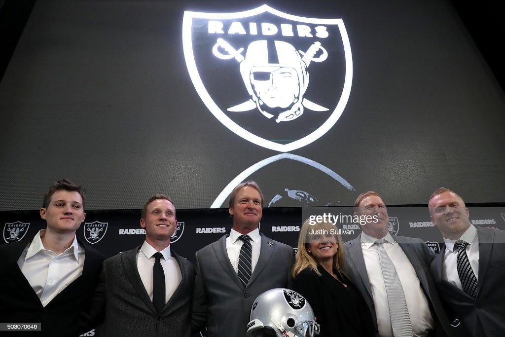 Oakland Raiders Introduce Jon Gruden : News Photo