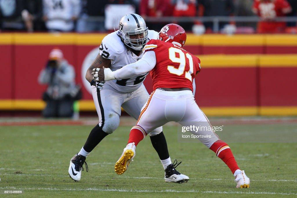 NFL: DEC 10 Raiders at Chiefs : News Photo