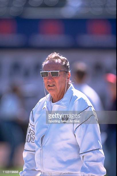 Oakland Raiders owner Al Davis during an Oct 5 1997 game in Oakland Calif