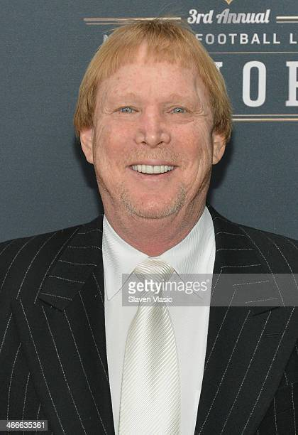 Oakland Raiders owner Mark Davis attends the 3rd Annual NFL Honors at Radio City Music Hall on February 1 2014 in New York City