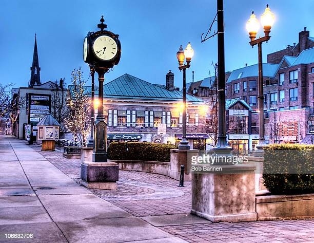 oakville town square - ontario canada stock pictures, royalty-free photos & images