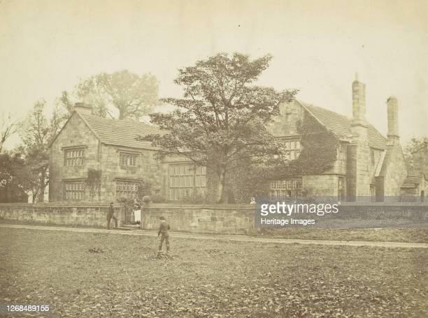 Oakwell Hall near Bristol, the Field Head of Shirley, 1860s. Artist Unknown.