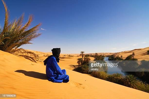 Oase リビア・マン湖