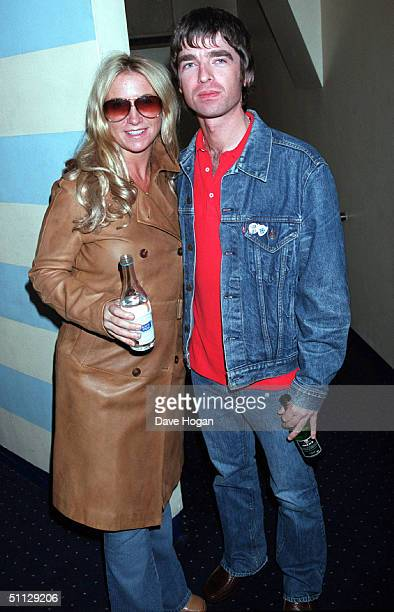 Oasis guitarist Noel Gallagher with wife Meg Matthews at 'The Blair Witch Project' premiere in London