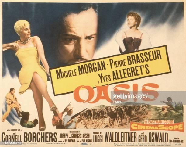 Michele Morgan Pierre Brasseur Cornell Borchers 1955