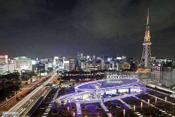 Oasis21 & TV tower in Nagoya
