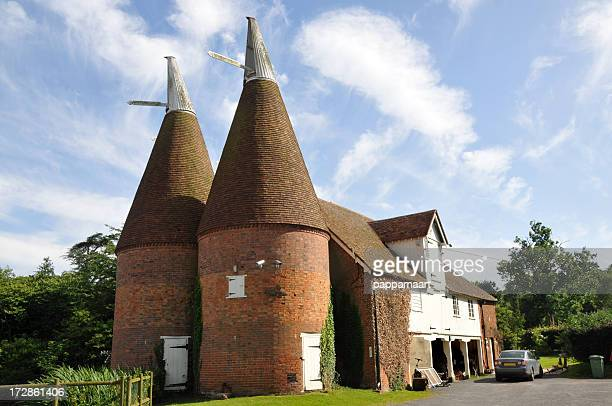 Hopfentrockenhaus in Kent, England