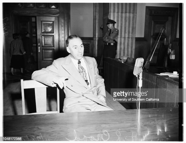 Oath hearing 28 November 1951 JR Croad Doctor Herbert Alexander William B Esterman Abraham Minkus