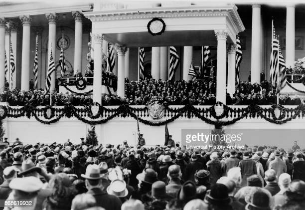 Oath of Office administered to John Calvin Coolidge as US president January 1925 Coolidge was the 30th President of the United States A Republican...