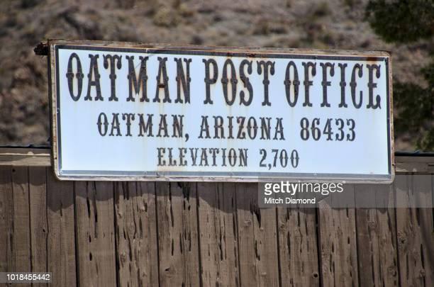 Oatman on Route 66