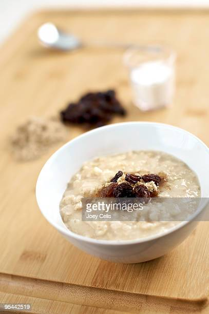 Oatmeal, Brown Sugar and Raisins breakfast