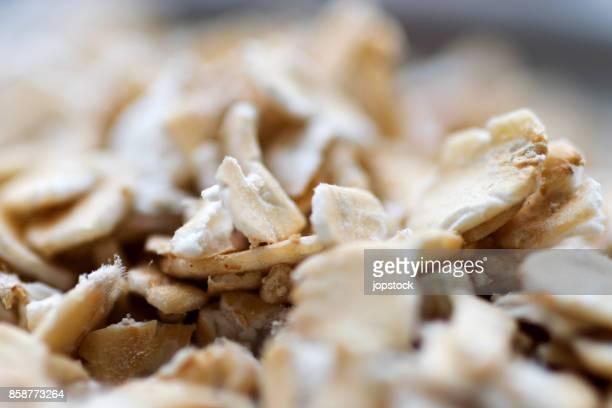Oatmeal grains Detail