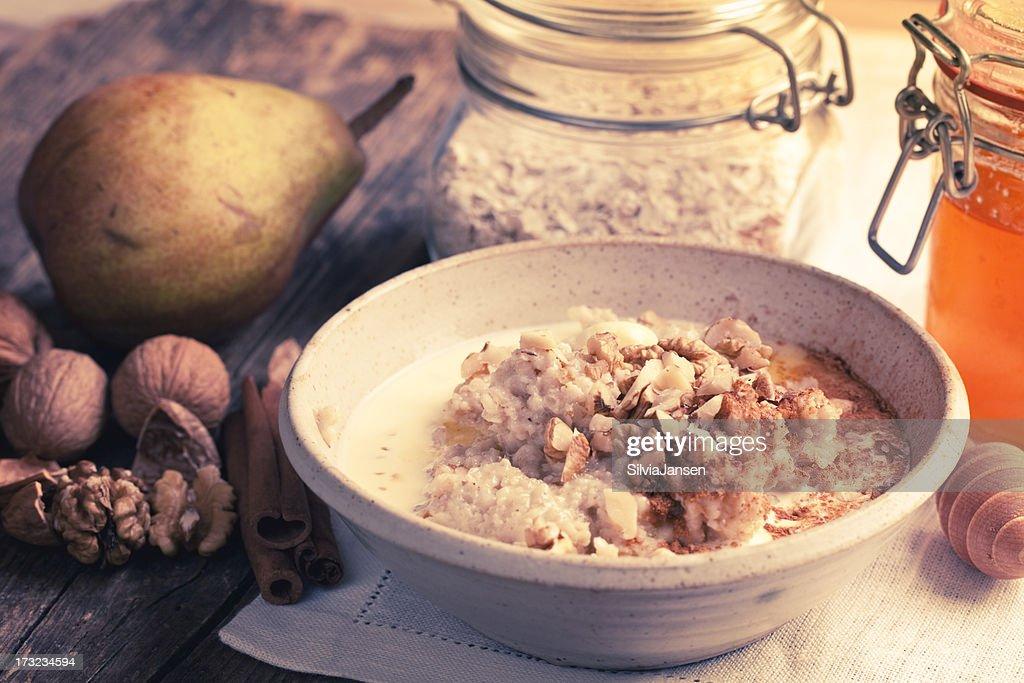 acqua di farina davena con cannella per dimagrire