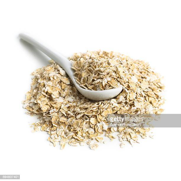 Oats and a spoon
