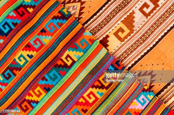 a oaxacan abstract - oaxaca stock pictures, royalty-free photos & images