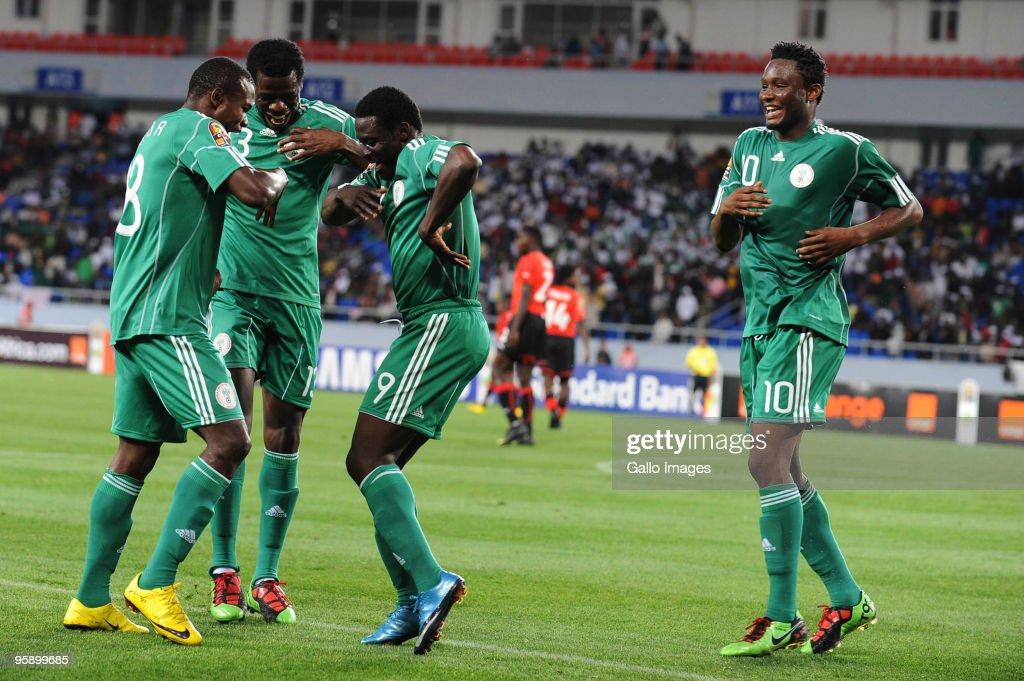 Nigeria v Mozanbique Group C - African Cup of Nations : News Photo