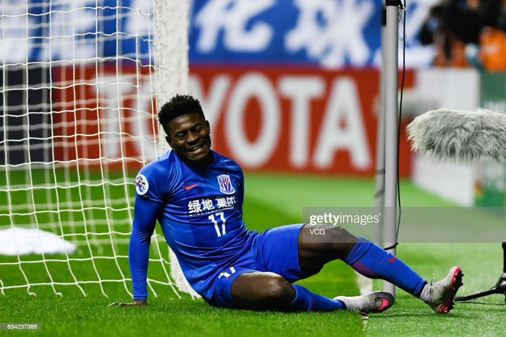 AFC Champion League 2017 - Playoff Stage - Shanghai Shenhua v Brisbane Roar