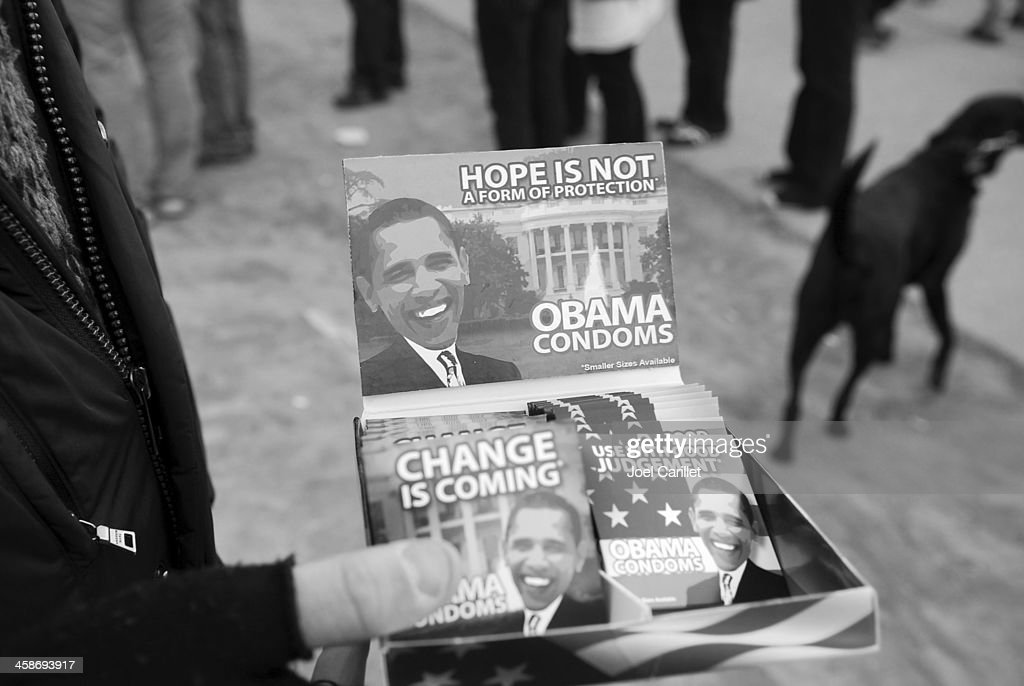 Obama condoms : Stock Photo
