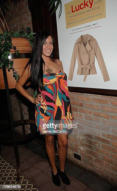 Obama Girl Amber Lee Ettinger attends the release of Lucky's new book The Lucky Guide to Mastering Any Style at the Bowery Hotel Bowery Terrace on...