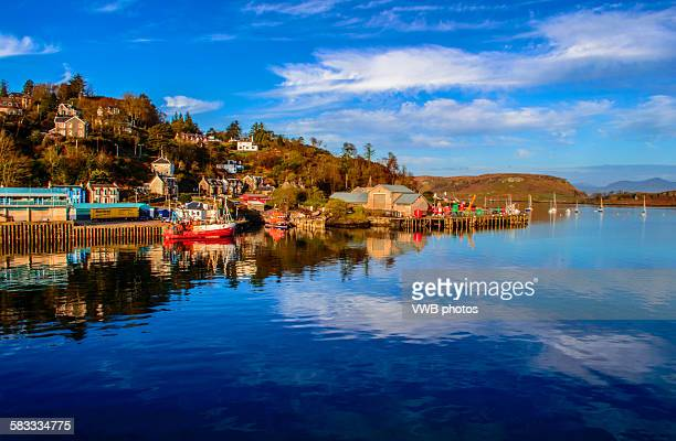 oban, argyll, scotland. - argyll and bute stock photos and pictures