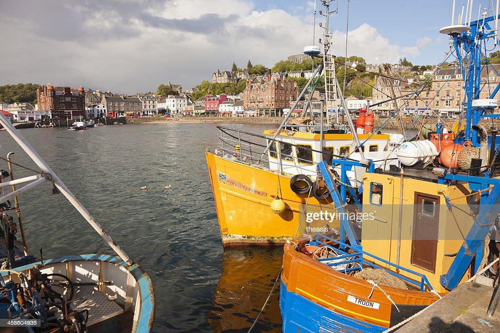 Oban Harbour : Stock Photo