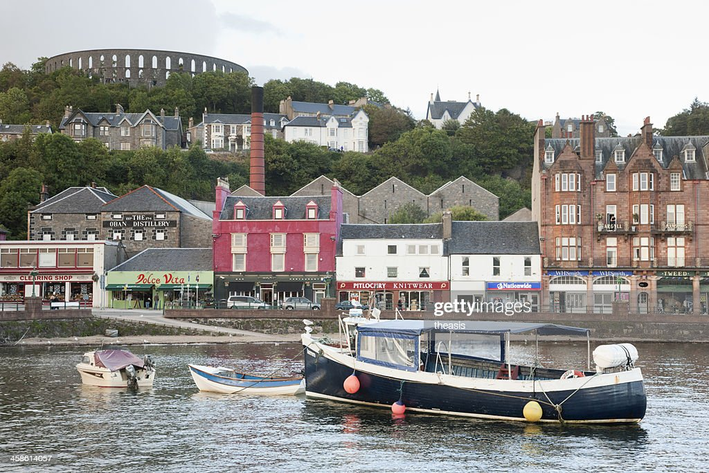 Oban Harbour : Stock Photo