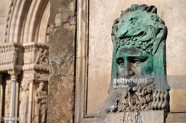 Obelisk in Arles, Provence, Southern France