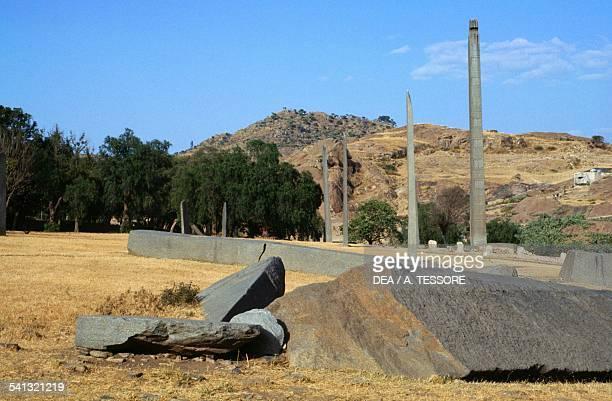Obelisks at Axum Ethiopia