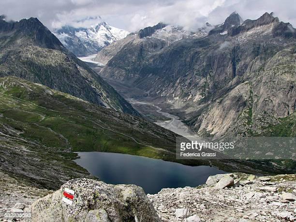 Oberaar Glacier and Triebtenseewli