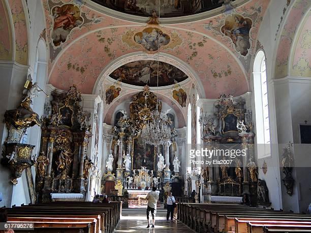 Oberammergau, Church St. Peter und Paul