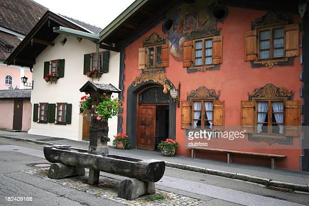 Oberammergau in Bavaria, Germany - Trompe L'oeil