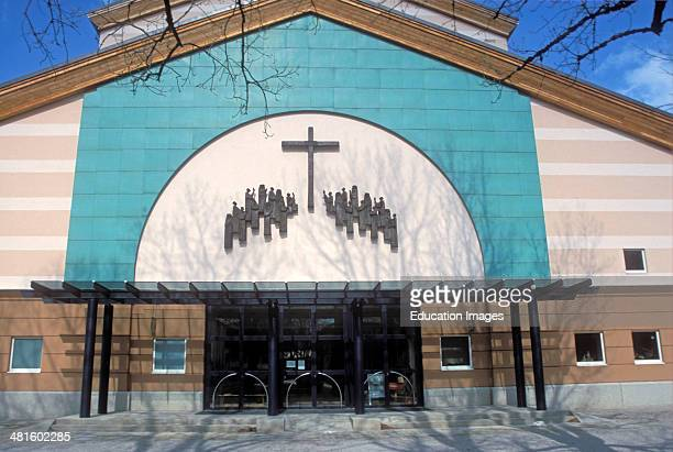 Oberammergau Passion Play Bavaria Germany Europe famous Spielhaus theatre