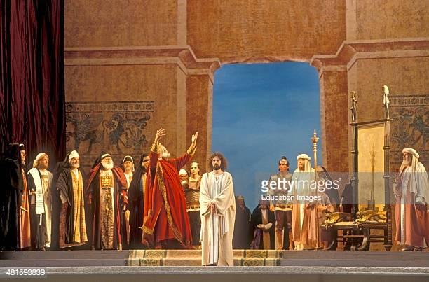 Oberammergau Passion Play Bavaria Germany Europe
