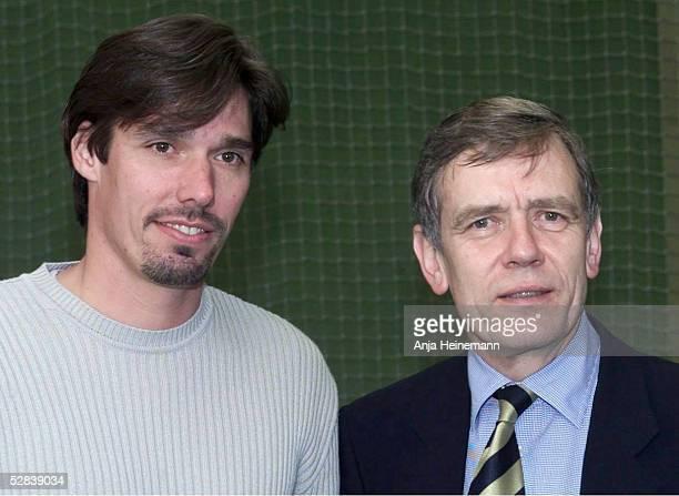 TEAM 2002 Oberhaching Michael STICH/GER DTB Praesident Georg Freiherr VON WALDENFELS
