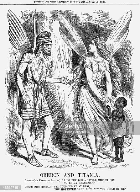 'Oberon and Titania' 1862 As the Civil War in America continued President Davis of the Confederation issued a conscription notice to call all men...