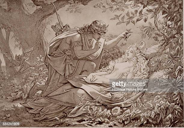 Oberon and Titania in Shakespeare's A Midsummer Night's Dream