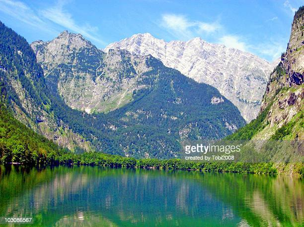 Obersee in Bavaria, Germany