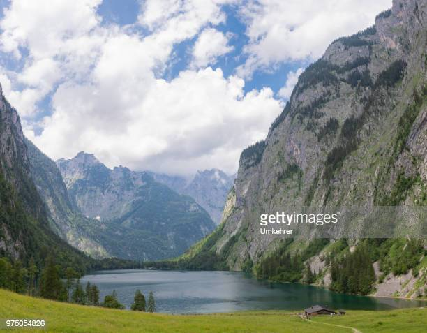 Obersee mit fischunkenalm