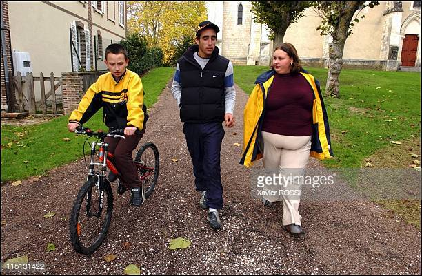 Obese teenagers get a second chance in Sanary Sur Mer France in May 2004 During All Saints Day break Jennifer in her village of Egleny with a friend...