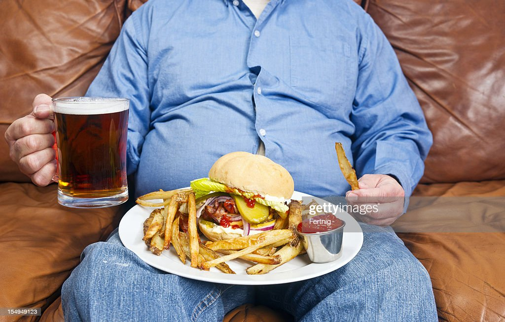 Obesity is a major cause of diabetes : Stock Photo