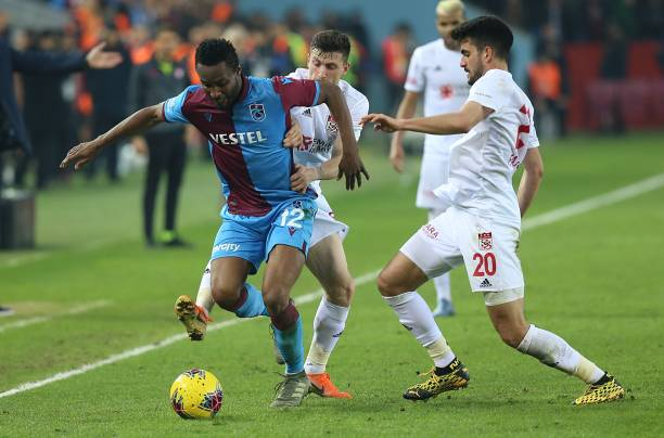 Trabzonspor v Demir Grup Sivasspor: Turkish Super Lig