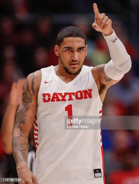 Obi Toppin of the Dayton Flyers is seen during the second half against the Fordham Rams at UD Arena on February 1 2020 in Dayton Ohio